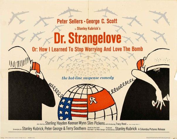 """14.04 """"Доктор Стрейнджлав, или Как я перестал волноваться и полюбил бомбу"""" в клубе """"12"""""""